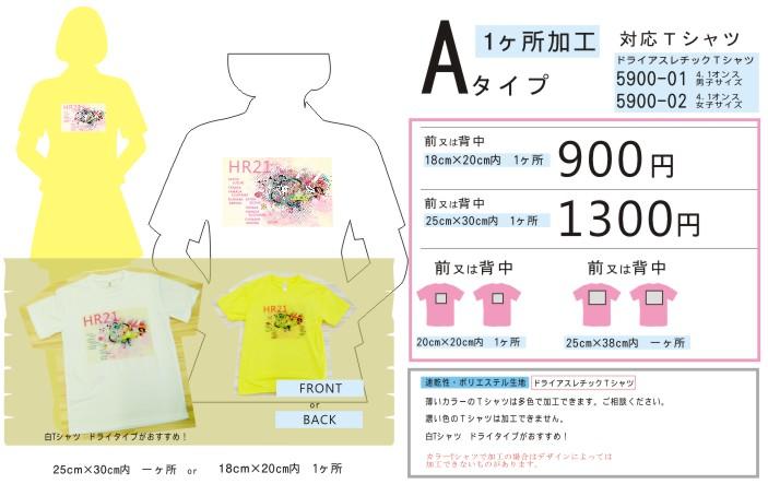クラスTシャツ【Aタイプ】